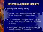 beverage canning industry