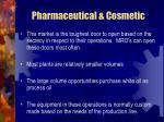 pharmaceutical cosmetic