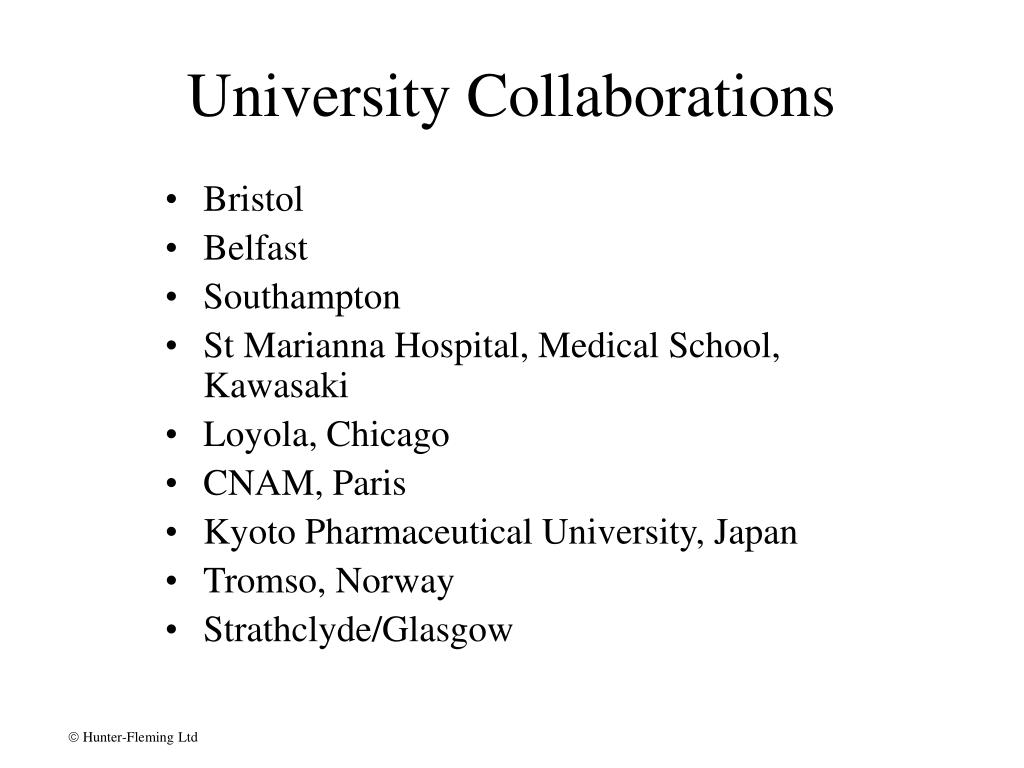 University Collaborations