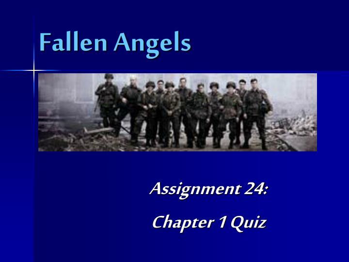 fallen angels n.