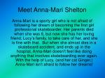 meet anna mari shelton