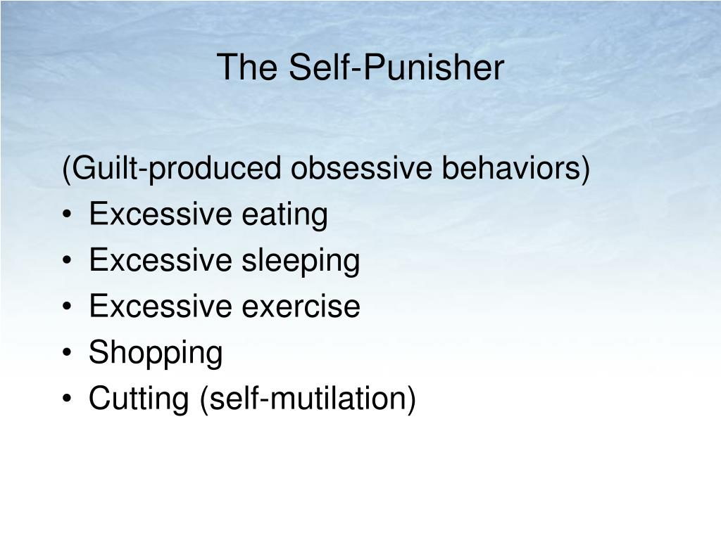 The Self-Punisher