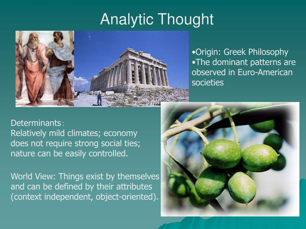 Analytic Thought