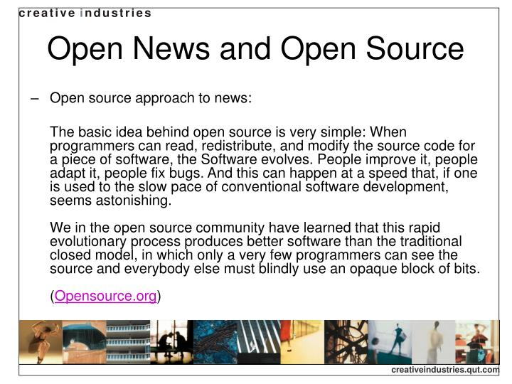 Open News and Open Source