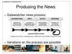 produsing the news1