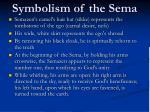symbolism of the sema
