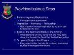 providentissimus deus23