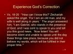 experience god s correction22