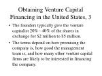 obtaining venture capital financing in the united states 3