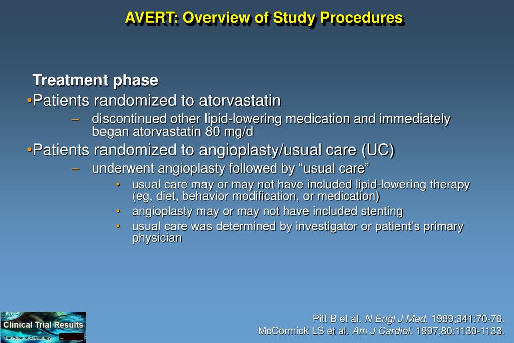 AVERT: Overview of Study Procedures