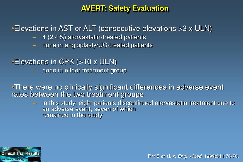 AVERT: Safety Evaluation