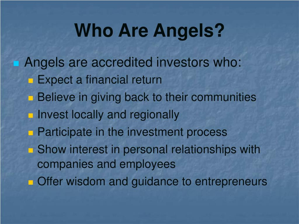 Who Are Angels?