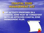 coastal zone management act