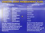 coastal zone management plan