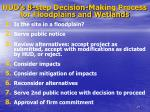 hud s 8 step decision making process for floodplains and wetlands