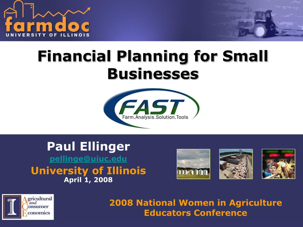 financial planning for small businesses l.