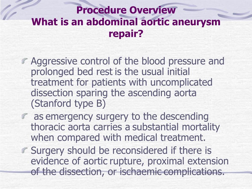 Procedure Overview