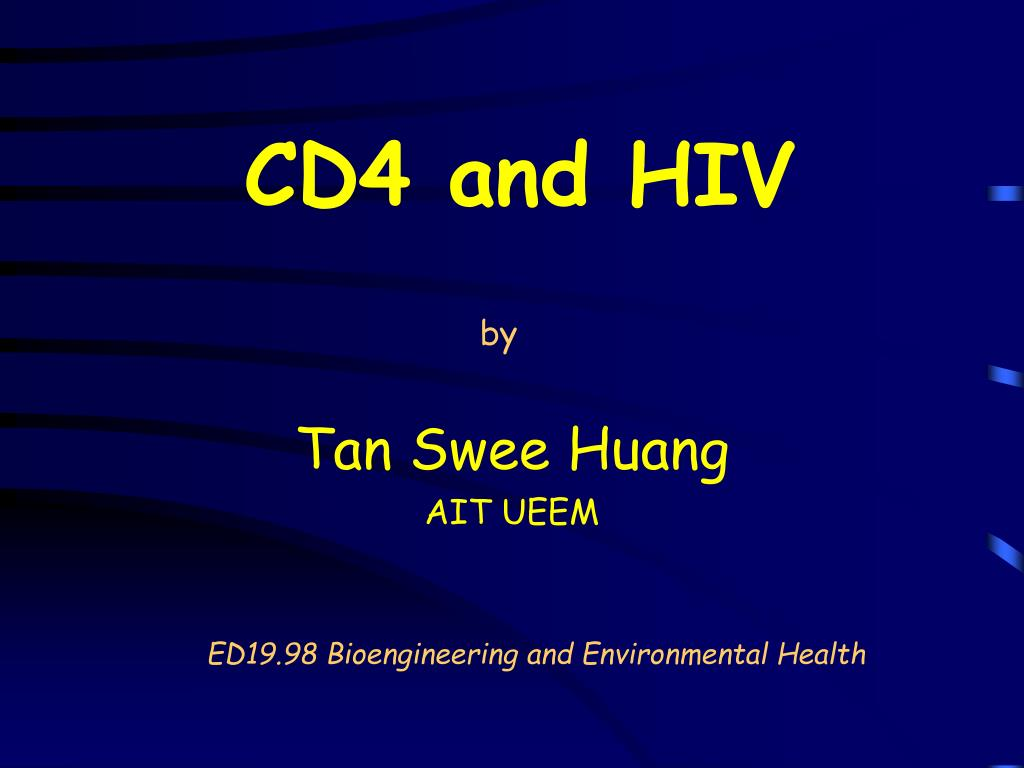 cd4 and hiv l.