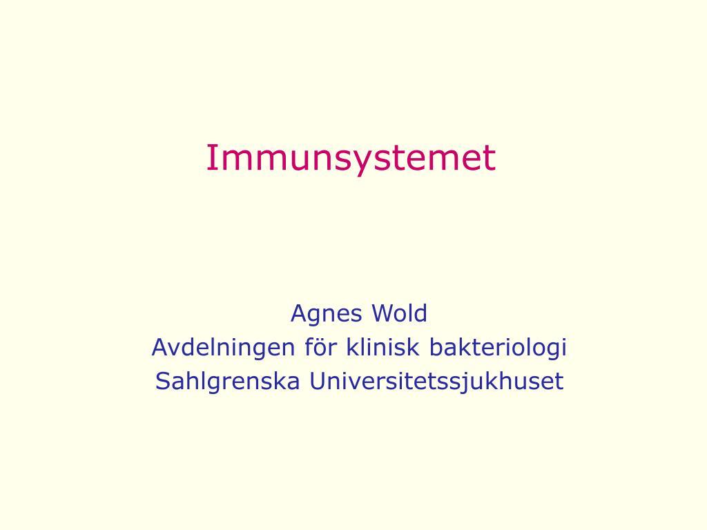immunsystemet l.