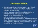 treatment failure