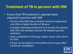 treatment of tb in persons with dm53