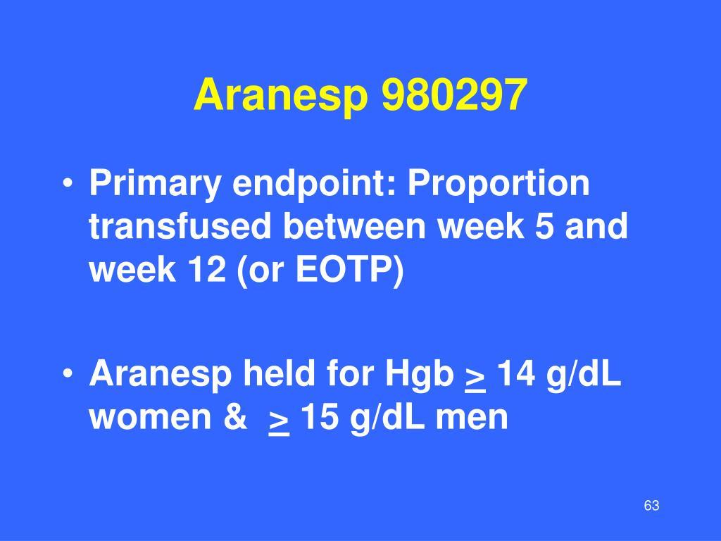 Aranesp 980297