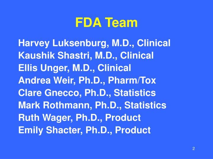 Fda team