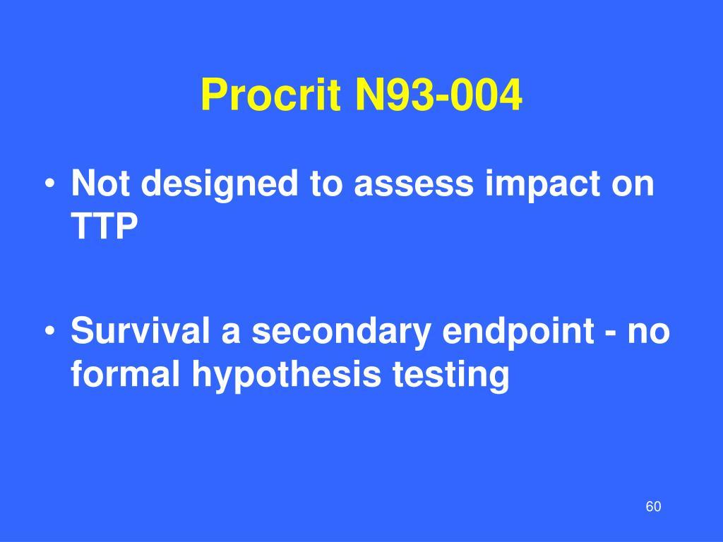 Procrit N93-004