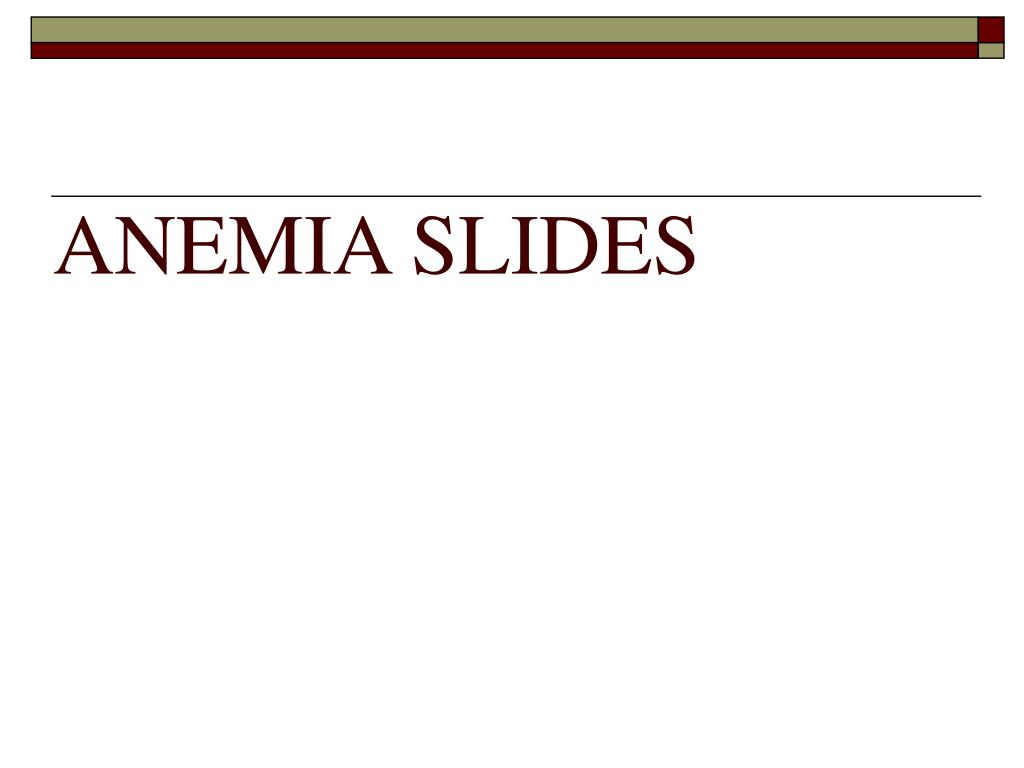anemia slides l.