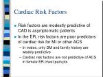 cardiac risk factors14