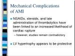 mechanical complications of ami47