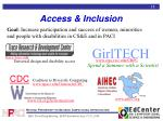 access inclusion