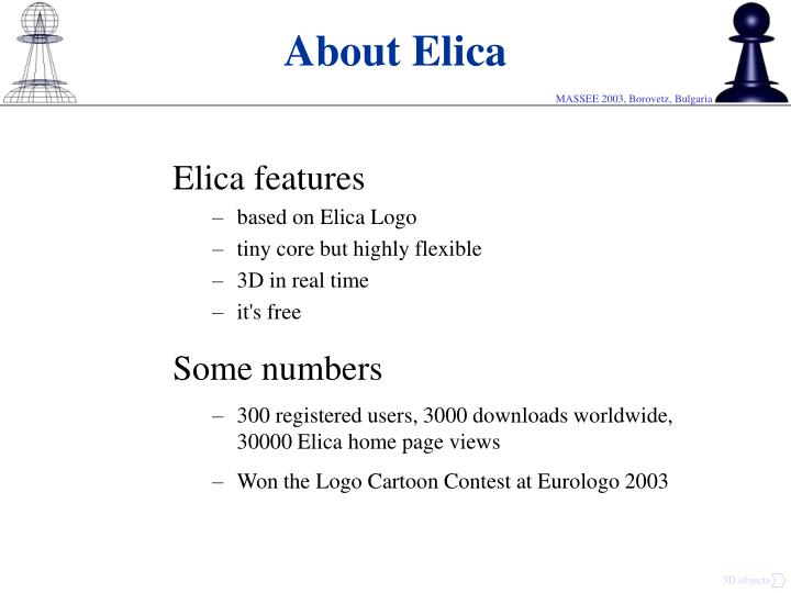 About elica
