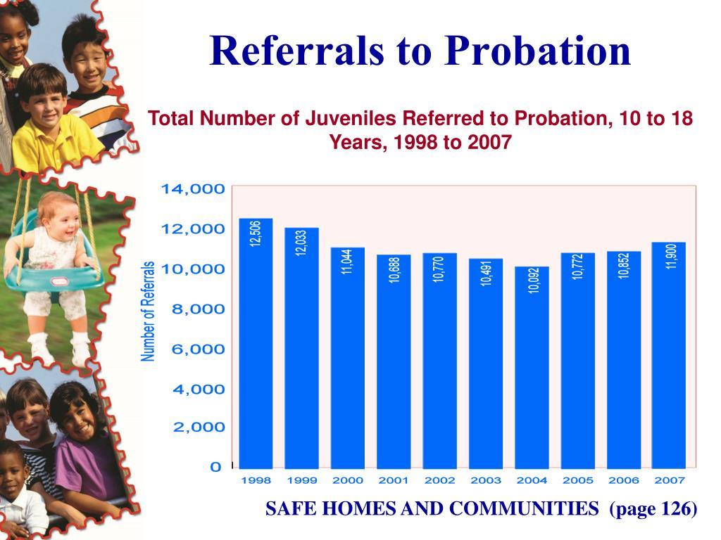 Referrals to Probation