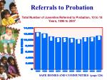 referrals to probation