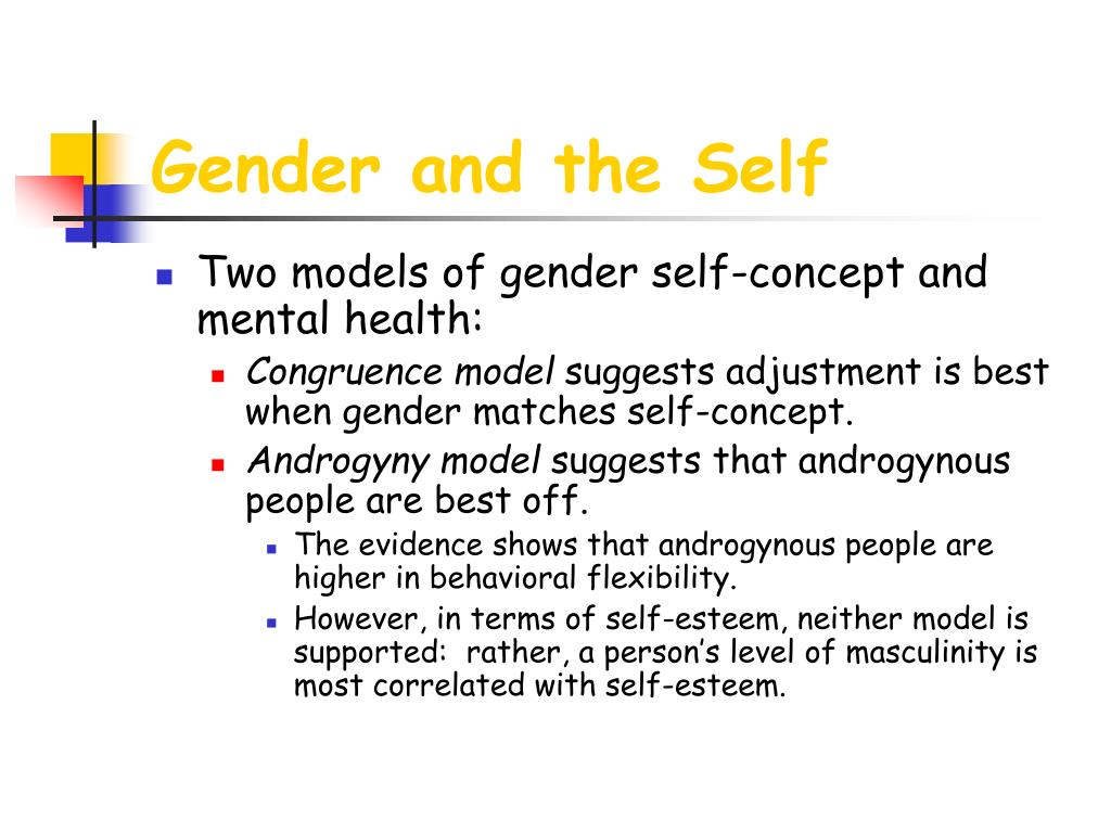 Gender and the Self