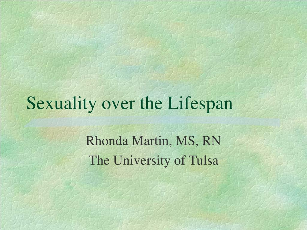 sexuality over the lifespan l.