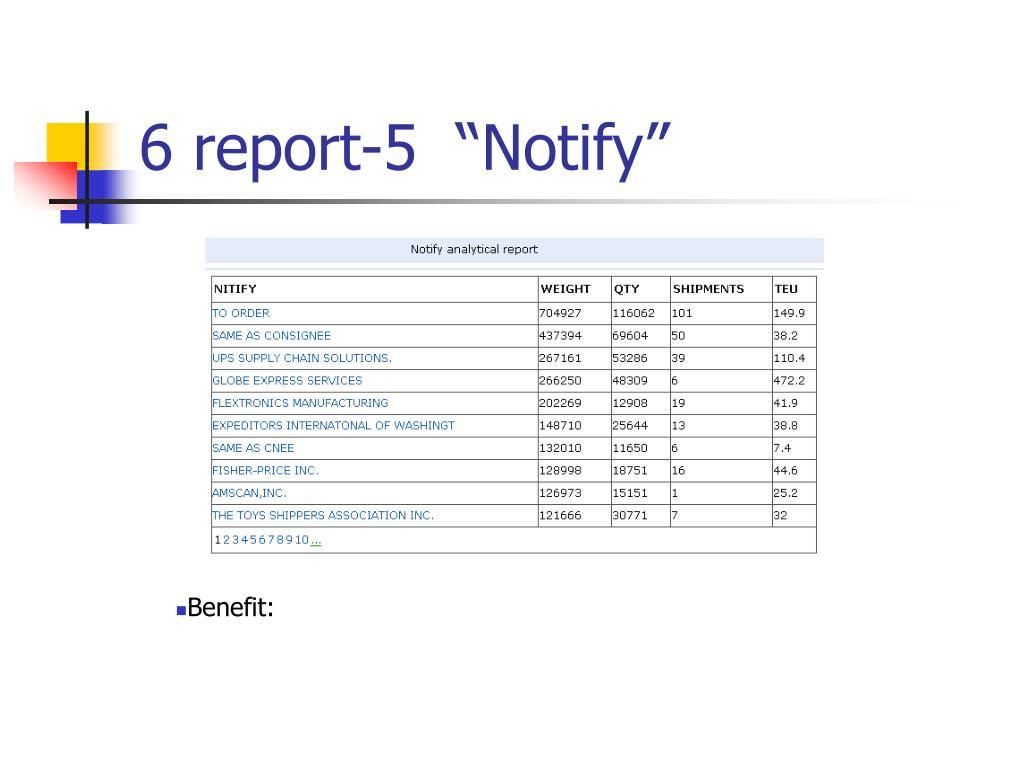"6 report-5  ""Notify"""