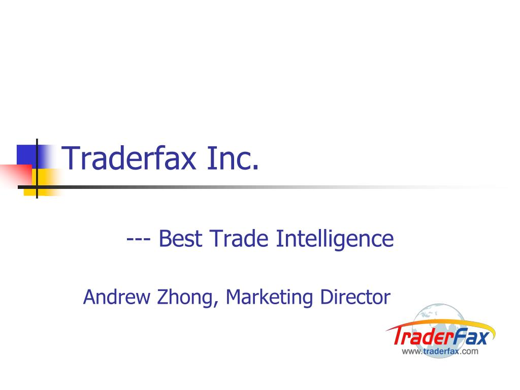 Traderfax Inc.