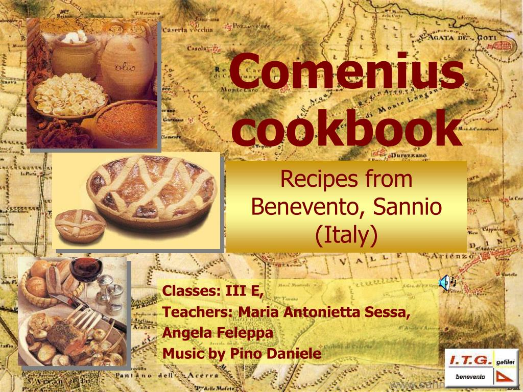 comenius cookbook l.