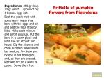 frittelle of pumpkin flowers from pietrelcina