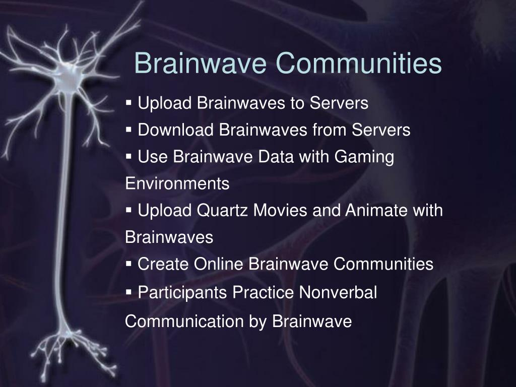 Brainwave Communities