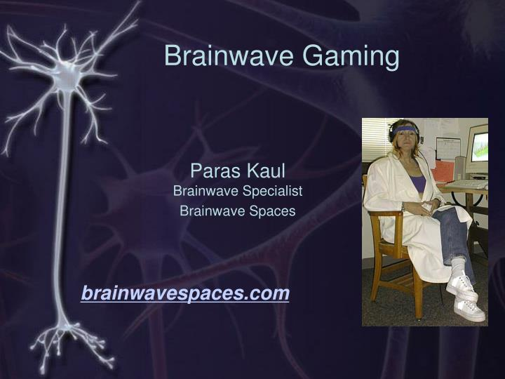 Brainwave gaming
