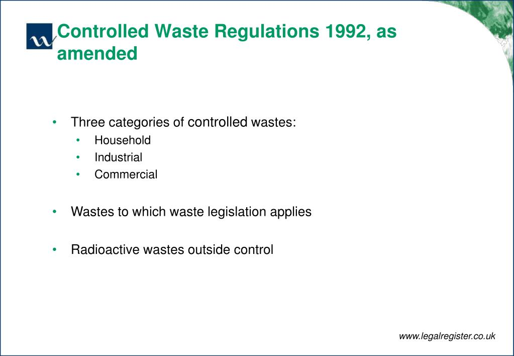 Controlled Waste