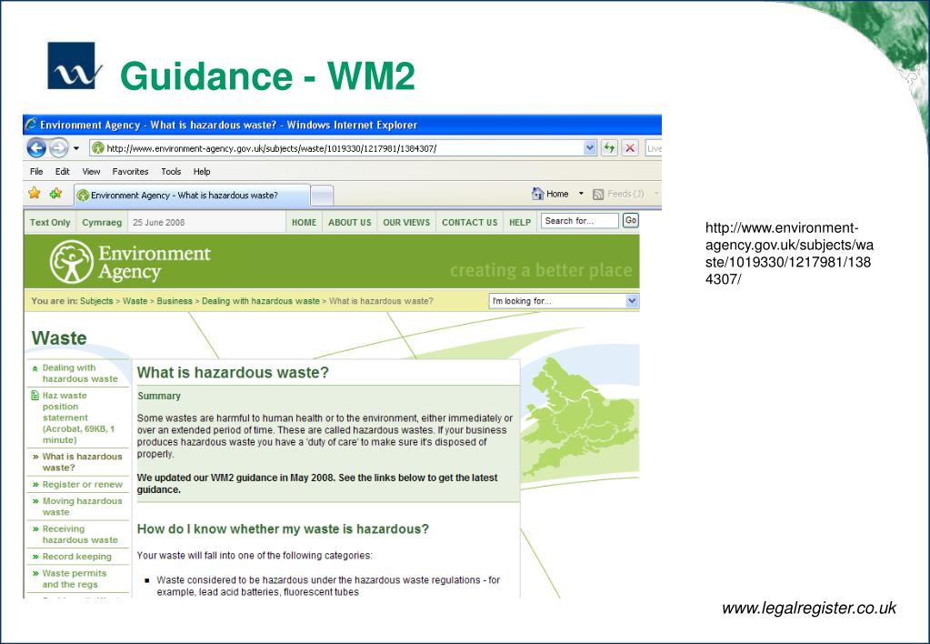 Guidance - WM2