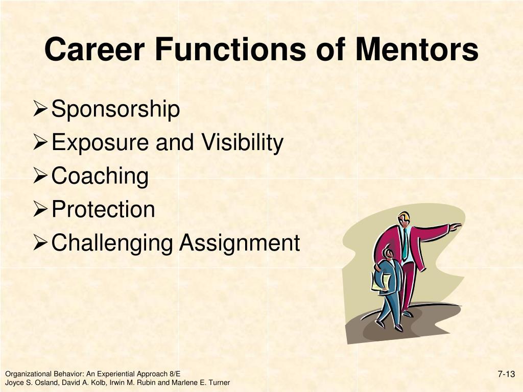 Career Functions of Mentors