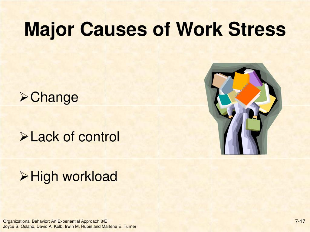Major Causes of Work Stress