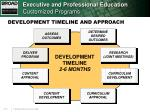 executive and professional education customized programs