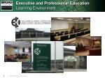 executive and professional education learning environment