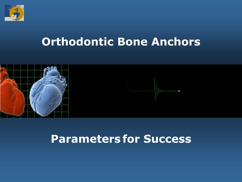 orthodontic bone anchors l.